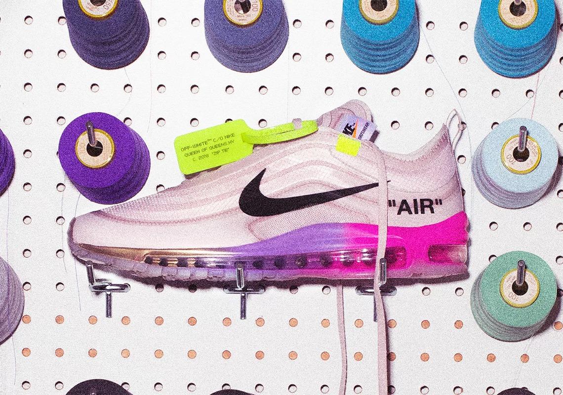 """海外限定 オフホワイト Off-White x Nike Air Max 97 """"Queen"""" Serena ... 233ce95af"""